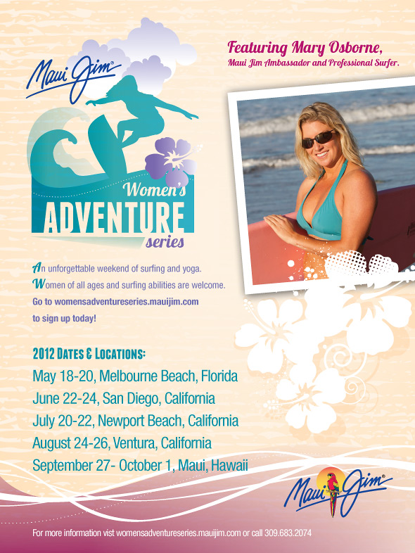 Women S Adventure Series Surf And Yoga Retreat Mary Osborne Surf