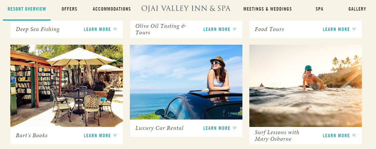 Ojai Spa Vacation Packages